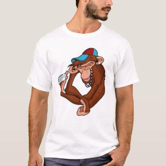 Macaco de bronze camiseta