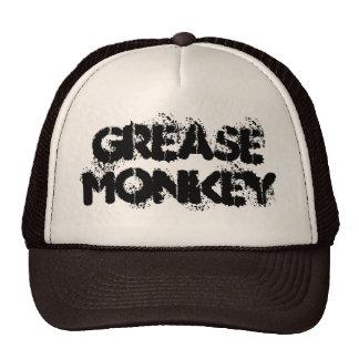 Macaco de graxa boné