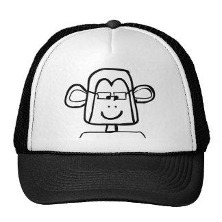 Macaco do geek boné