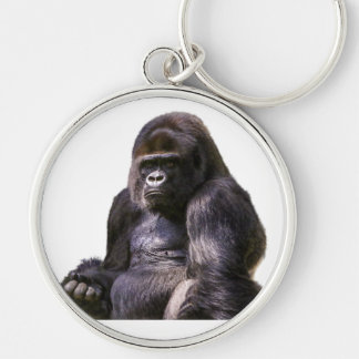 Macaco do macaco do gorila chaveiro