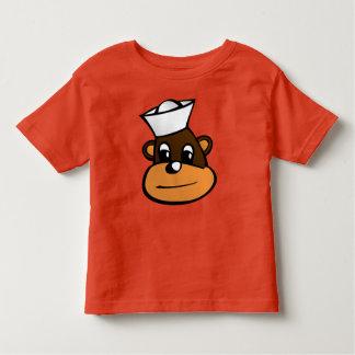 Macaco do marinheiro camiseta