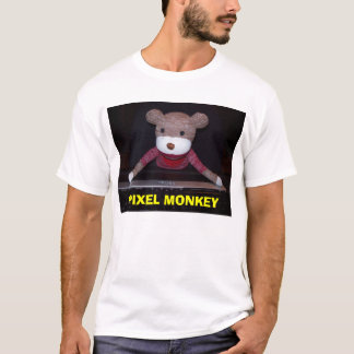 Macaco do pixel, MACACO do PIXEL Camiseta