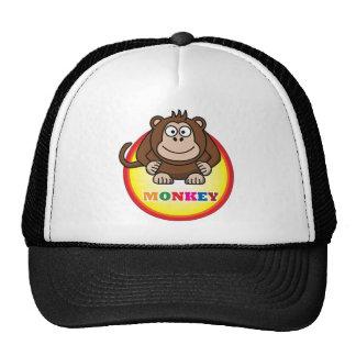 Macaco dos desenhos animados boné
