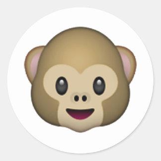 Macaco - Emoji Adesivo