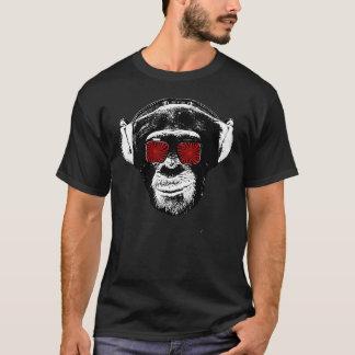 Macaco engraçado camiseta