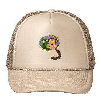 Macaco insolente bonés