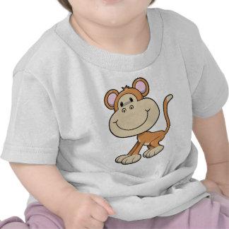 Macaco pequeno bonito tshirts