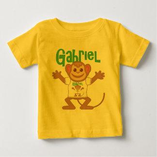 Macaco pequeno Gabriel Camiseta Para Bebê