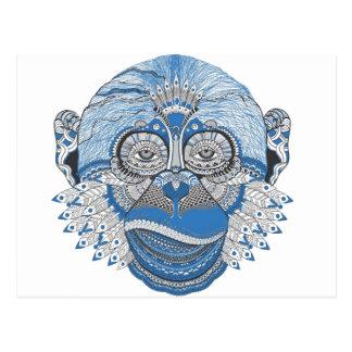 Macaco - universal cartão postal