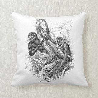 Macacos Travesseiro De Decoração