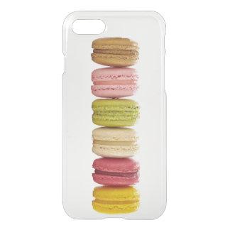 Macaron feminino colorido bonito capa iPhone 7
