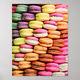 Macaron francês poster