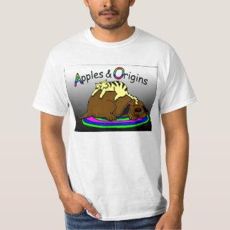 Maçãs & origens camiseta