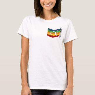 machado Brasil das artes marciais do capoeira do Camiseta