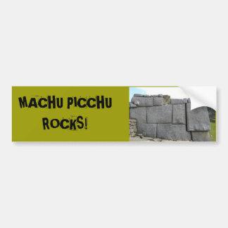 Machu Picchu balança Bumpersticker Adesivo Para Carro
