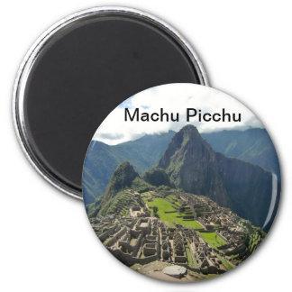 Machu Picchu Ímã Redondo 5.08cm