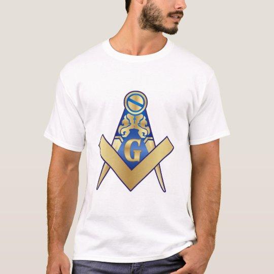 Maçonaria Esquadro e Compasso Camiseta