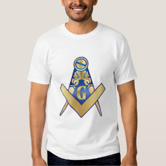 Maçonaria Esquadro e Compasso Tshirts