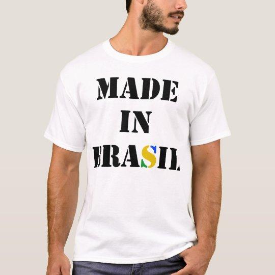 Made In Brasil - Camiseta