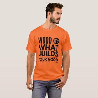 Madeira Camiseta