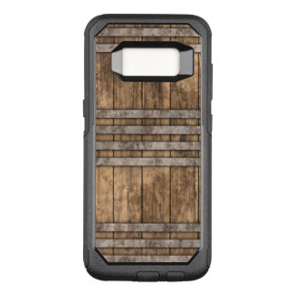 Madeira de Crate & Barrel Capa OtterBox Commuter Para Samsung Galaxy S8