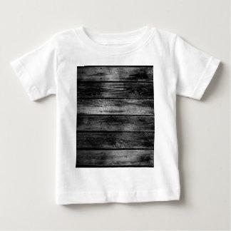 Madeira do celeiro camiseta para bebê