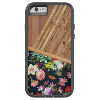 Madeira e capas de iphone das flores