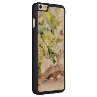 Madeira magro positiva do iPhone 6 de Bella Capa Para iPhone 6 Plus De Bordo, Carved