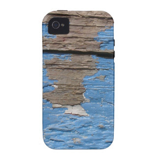 Madeira pintada velha MF Capa Para iPhone 4/4S