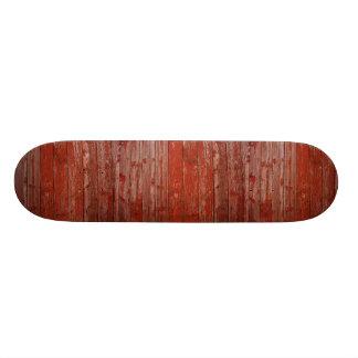 Madeira vermelha velha