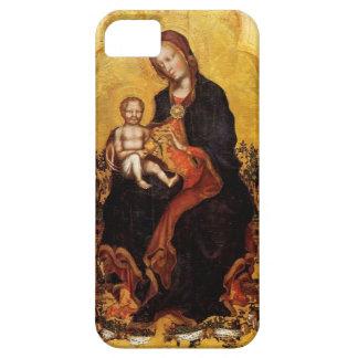 Madonna com a criança pelo Gentile Fabriano Capas Para iPhone 5