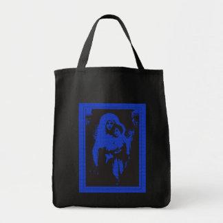 Madonna & criança bolsa de lona