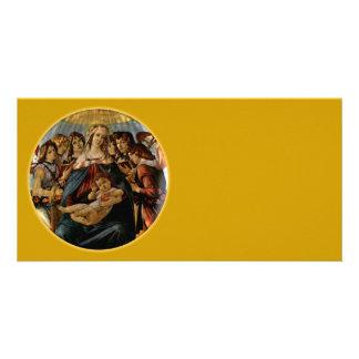 Madonna da romã - Botticelli Cartões Com Foto Personalizados