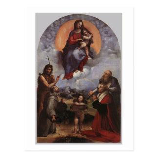 Madonna do cartão de Foligno