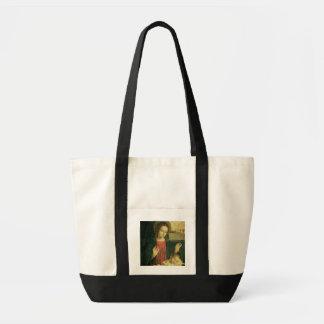 Madonna e criança bolsa de lona