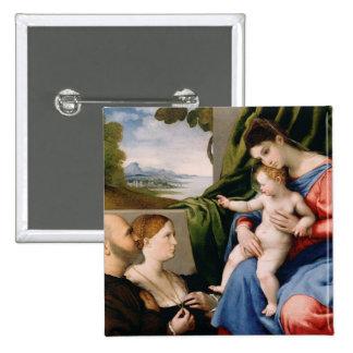 Madonna e criança com o St John infantil Pins