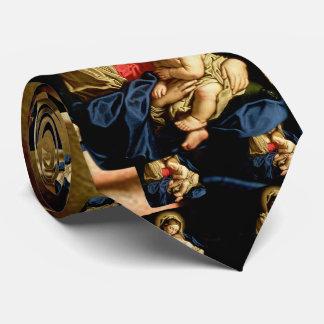 Madonna e criança Jesus - Sassoferrato Gravata