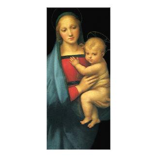 Madonna e criança, Madonna del Granduca por 10.16 X 22.86cm Panfleto