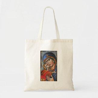 Madonna e Jesus infantil Bolsa