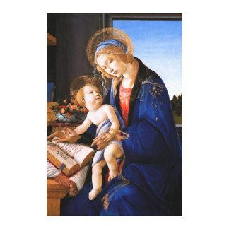 Madonna ensina a criança Jesus Sandro Botticelli