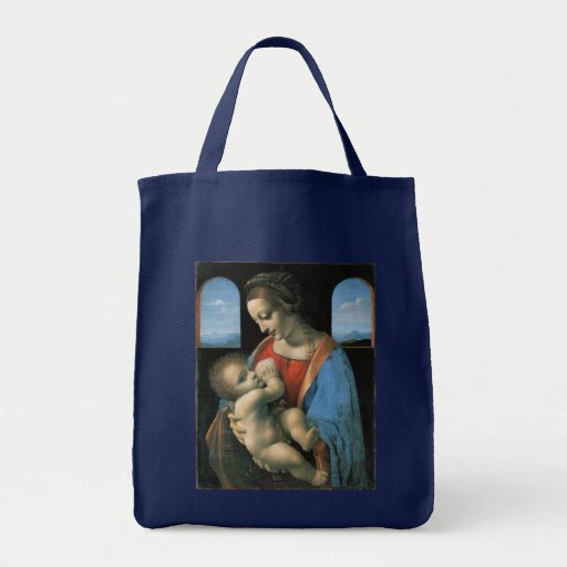 Madonna Litta por Leonardo da Vinci Bolsas