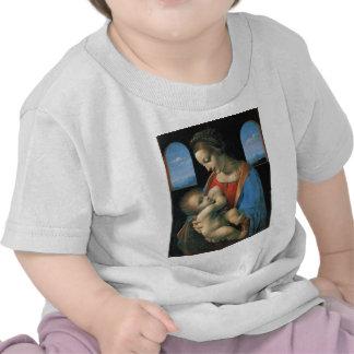 Madonna Litta por Leonardo da Vinci T-shirt