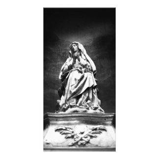 Madonna Weeping Cartão Com Foto