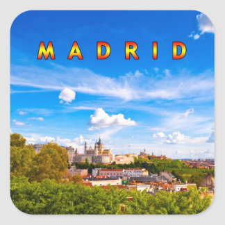 Madrid 02C Adesivo Quadrado