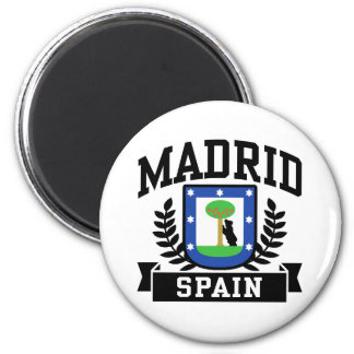 Madrid Ímã Redondo 5.08cm