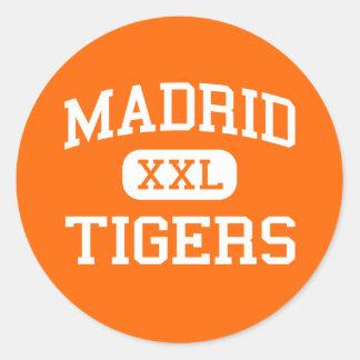Madrid - tigres - segundo grau de Madrid - Madrid Adesivo