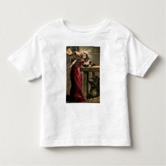 Madrinha feericamente do vintage camiseta infantil
