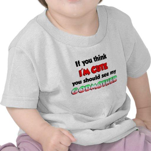 Madrinha italiana bonito camisetas
