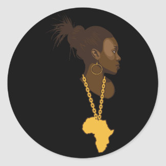 Mãe África Adesivo