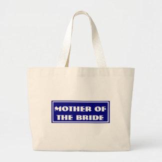 Mãe azul da noiva que Wedding a sacola enorme Bolsa Para Compra